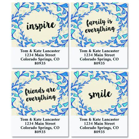 Loving Words Select Return Address Labels (4 Designs)