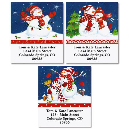 Family Gathering Select Return Address Labels (3 Designs)