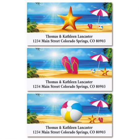 Sunny Days Deluxe Address Labels (3 Designs)