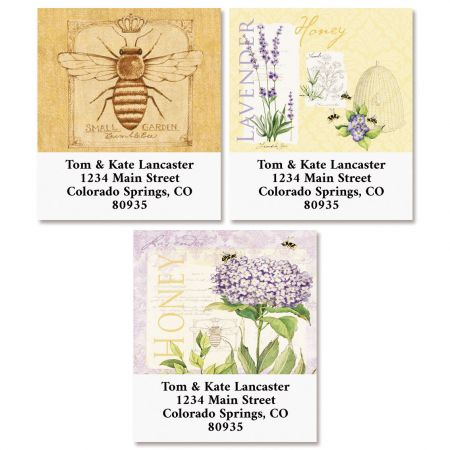 Lavender & Herbs Select Address Labels (3 Designs)