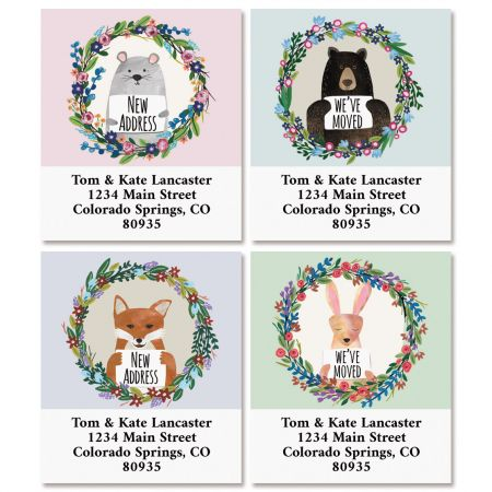 Animals New Address Select Return Address Labels