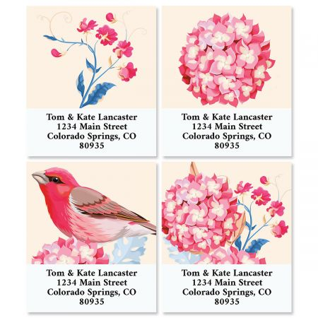Summer Garden Select Return Address Labels (4 Designs)