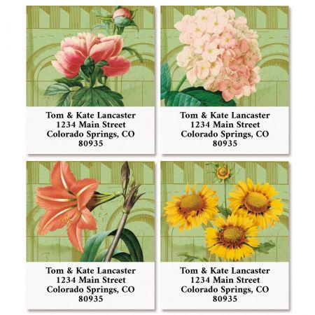Conservatory Select Return Address Labels (4 Designs)