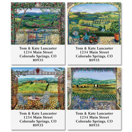 Vineyards Select Return Address Labels (4 Designs)