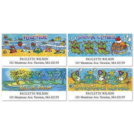Seas-in-Greetings Deluxe Return Address Labels  (4 Designs)