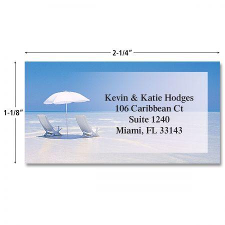 On The Shore Border Return Address Labels (3 Designs)
