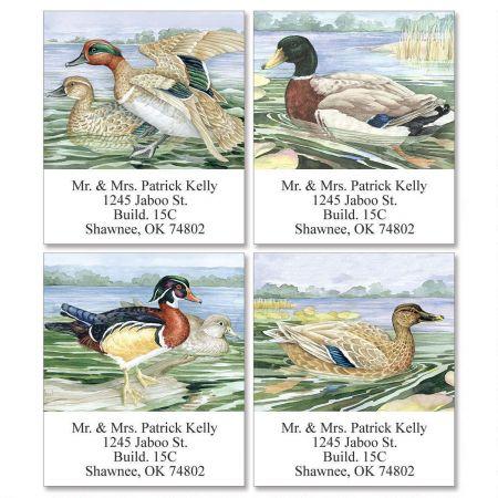 Graceful Gliders Select Return Address Labels   (4 Designs)