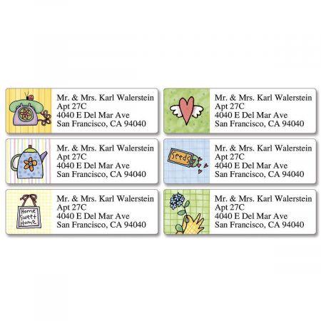 Sue Dreamer Classic Return Address Labels  (6 Designs)