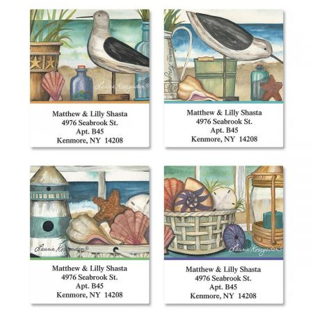 Seaside Memories Select Address Labels  (4 Designs)