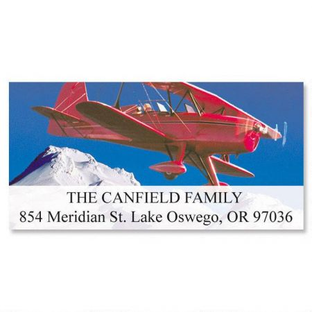 Winging It Deluxe Return Address Labels  (6 Designs)