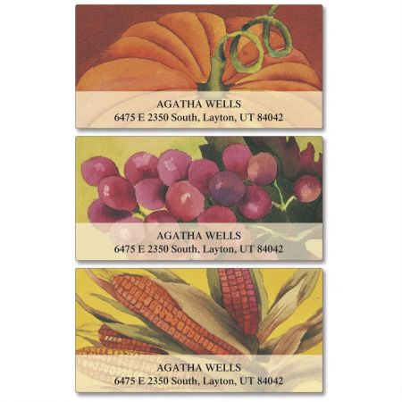 Plenty Deluxe Return Address Labels  (3 Designs)