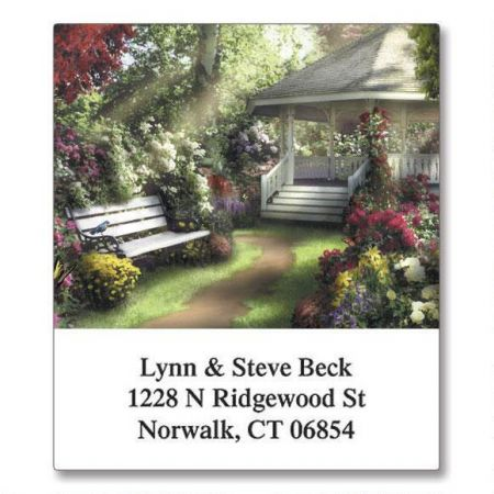 Gazebos Select Return Address Labels  (6 Designs)