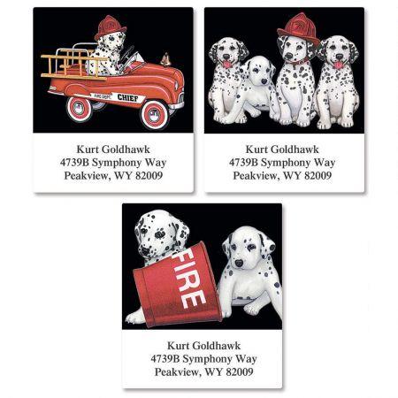 Dalmatians Select Return Address Labels  (3 Designs)