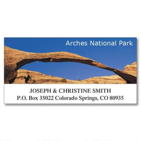 Our National Parks Deluxe Address Labels  (8 Designs)