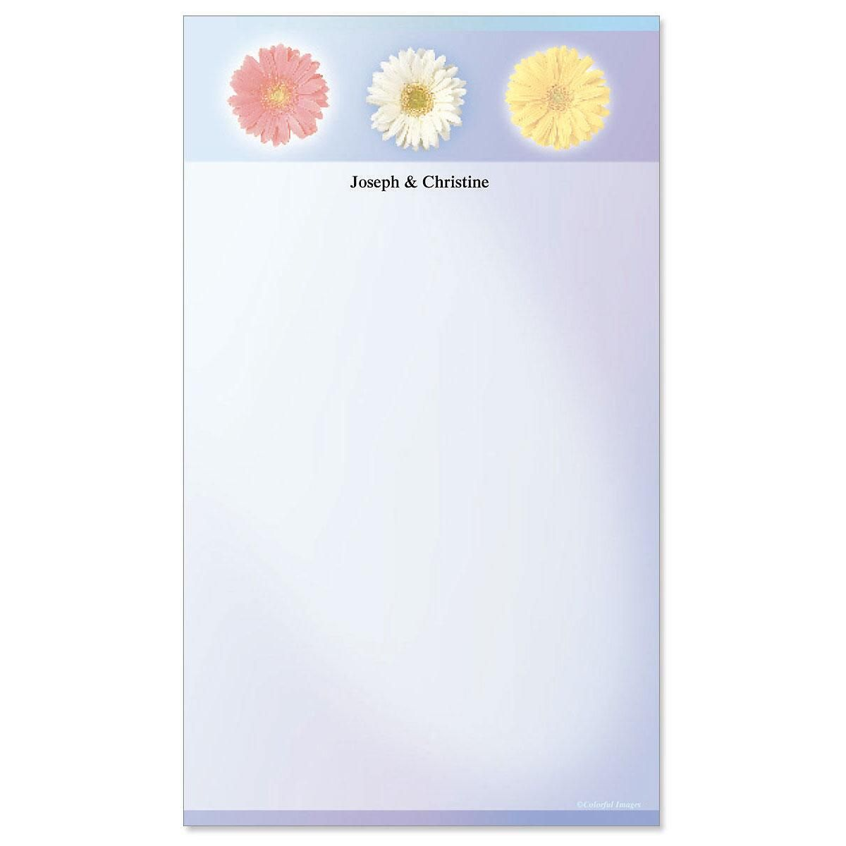 Illuminated Petals Notepad
