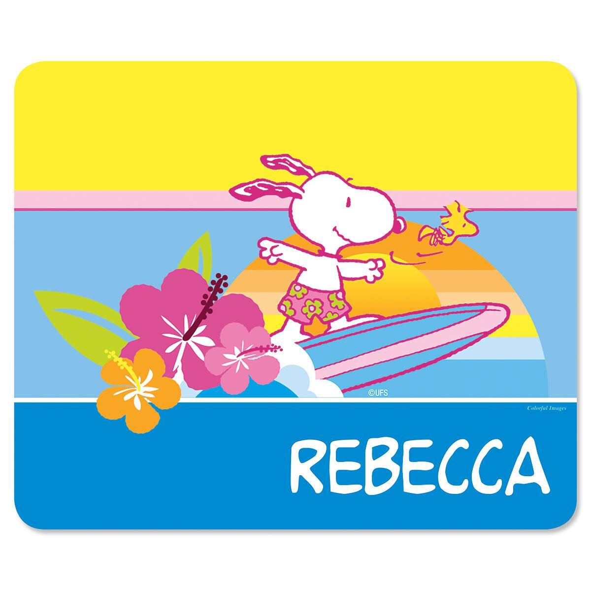 PEANUTS®  Best Friends  Personalized Mousepad