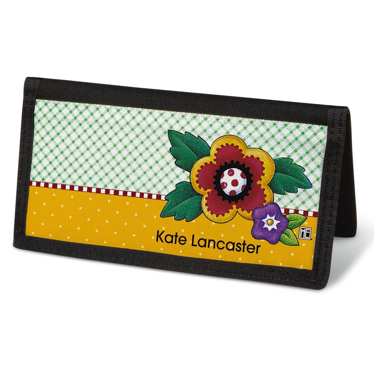 Mary's Classic Breits  Checkbook Cover - Personalized