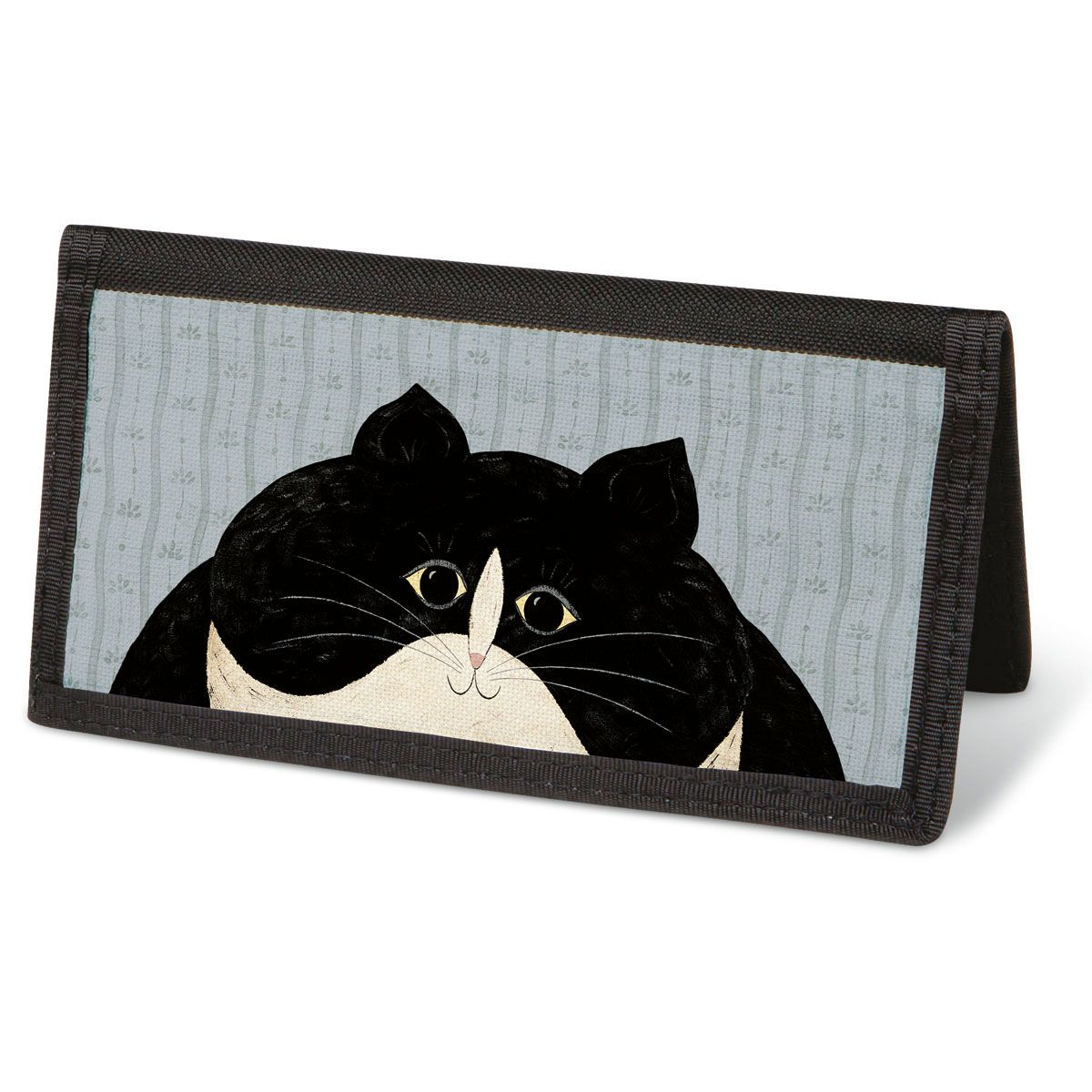 Cozy Cats by Warren Kimble  Checkbook Cover - Non-Personalized