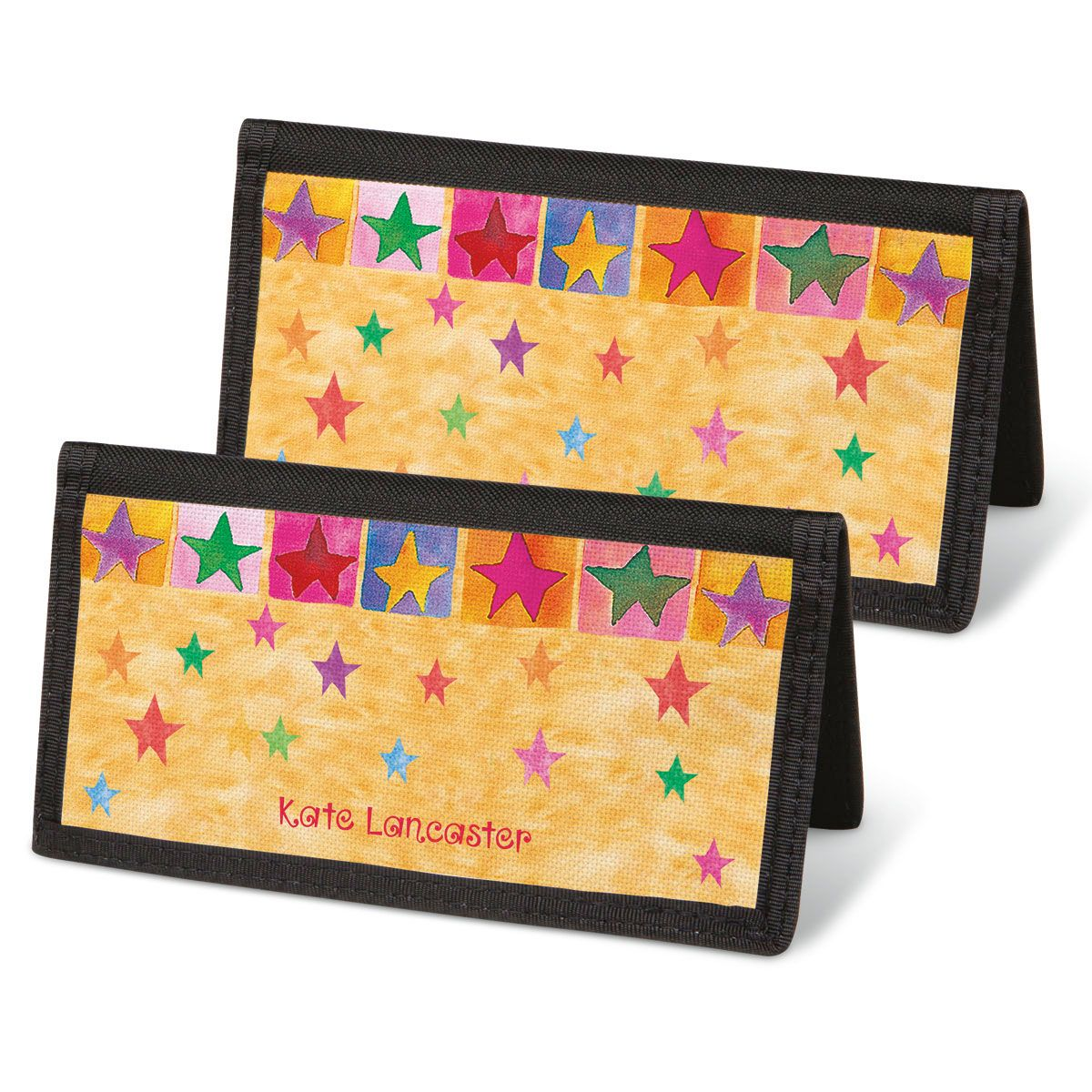 Stars On Parade Checkbook Cover