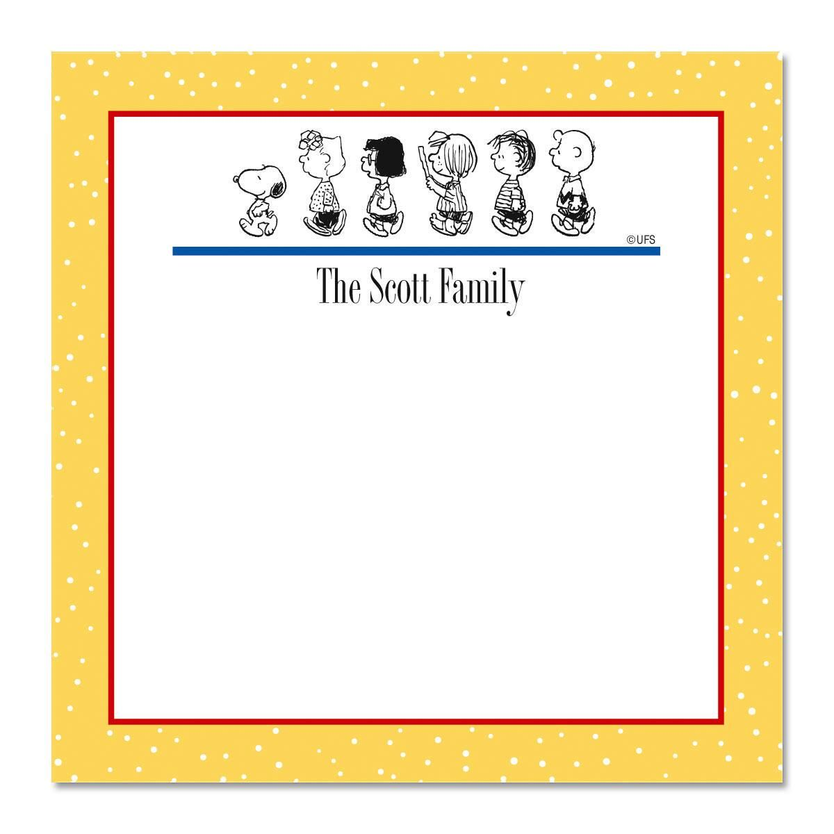 PEANUTS® Our Family Cube  Refill