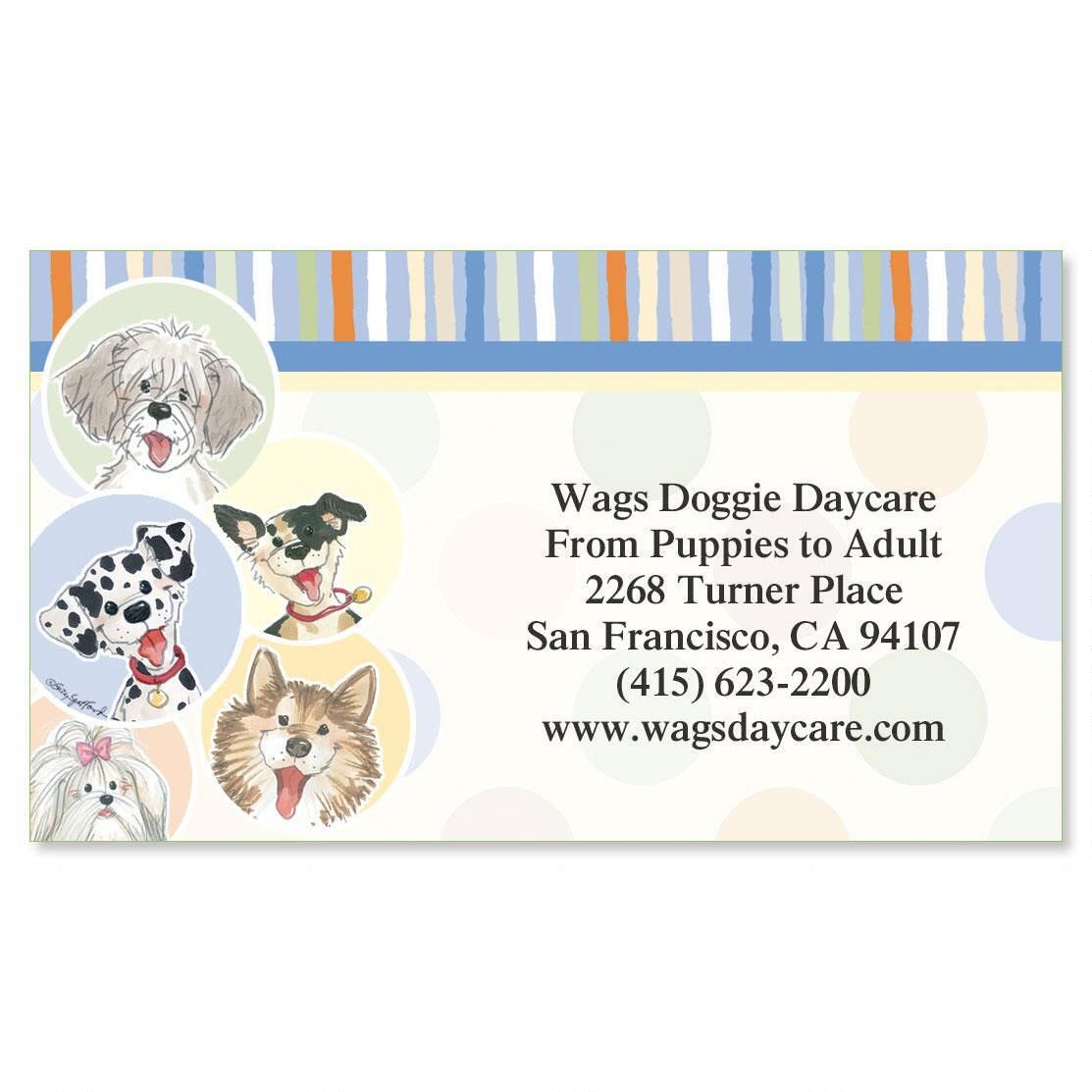 Wags™ Business Cards