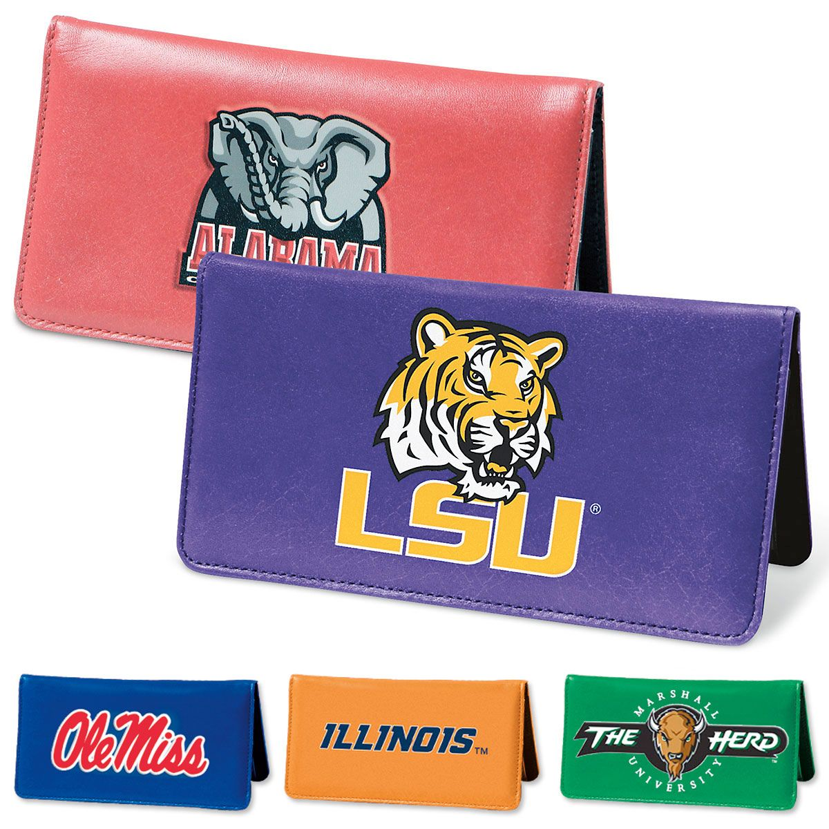 Collegiate Personal Checkbook Covers