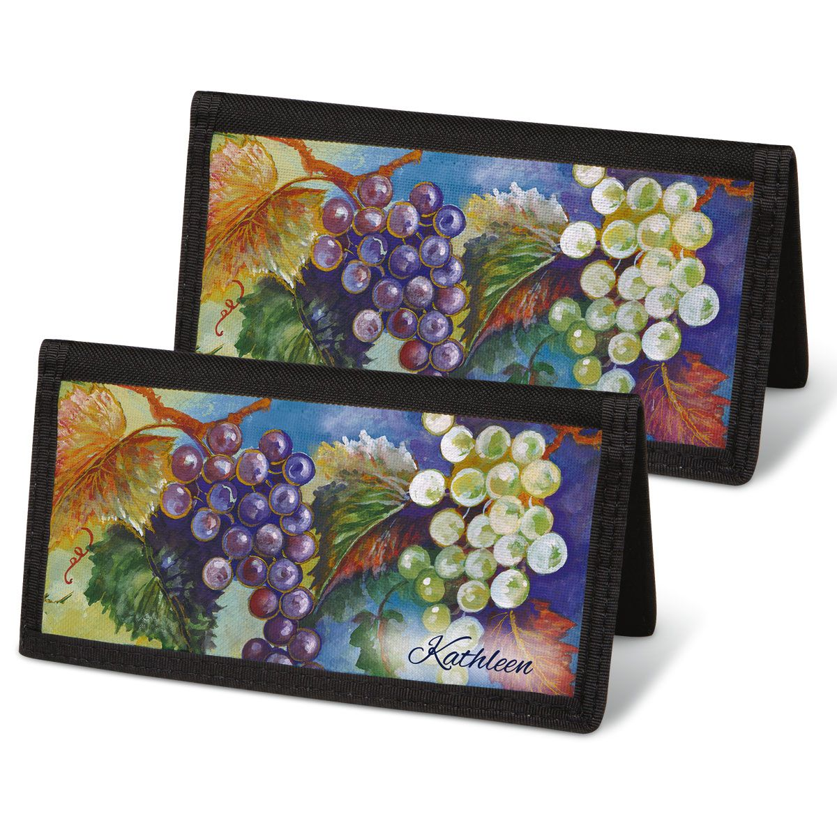 Bacchus Personal Checkbook Covers