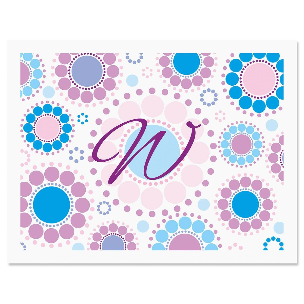 Bright and Bold  Custom Note Cards