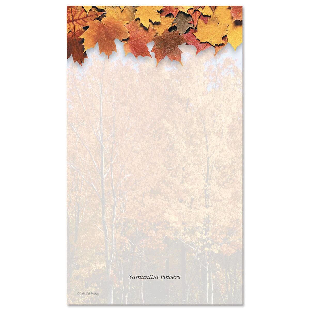 Autumn Beauty Custom Memo Pads