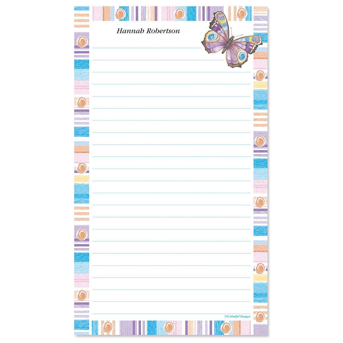 Butterfly Fantasy Custom Memo Pads