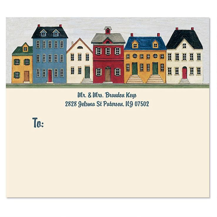 Saltbox Homes Package Labels
