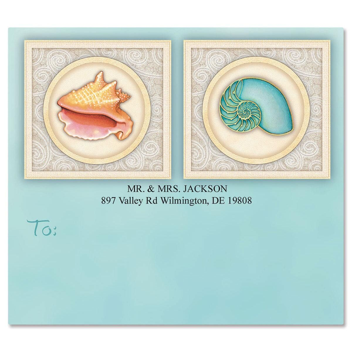Sea Creatures Package Labels