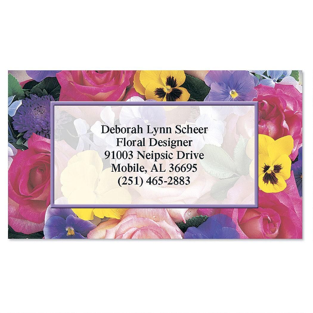 Beautiful Blossoms Business Cards