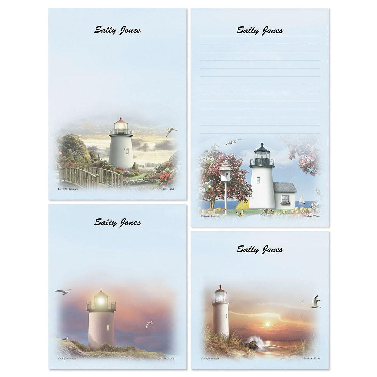 Lighthouse Memo Pad Sets
