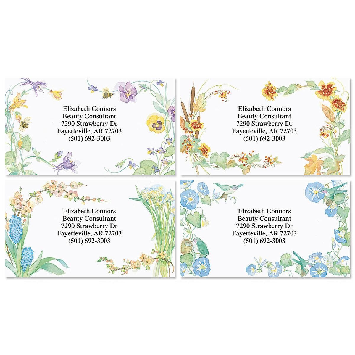 Floral Seasons Business Cards