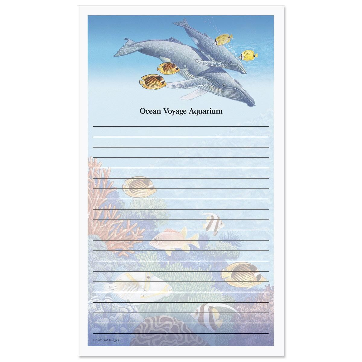 Sea Life Custom Memo Pads