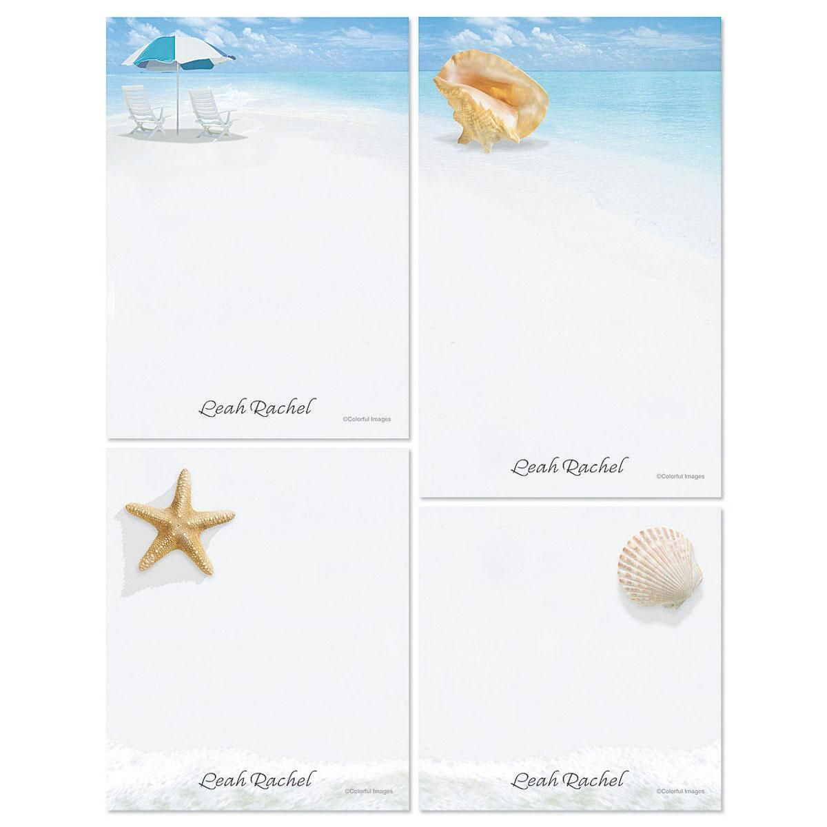 Calm Seas Memo Pad Set