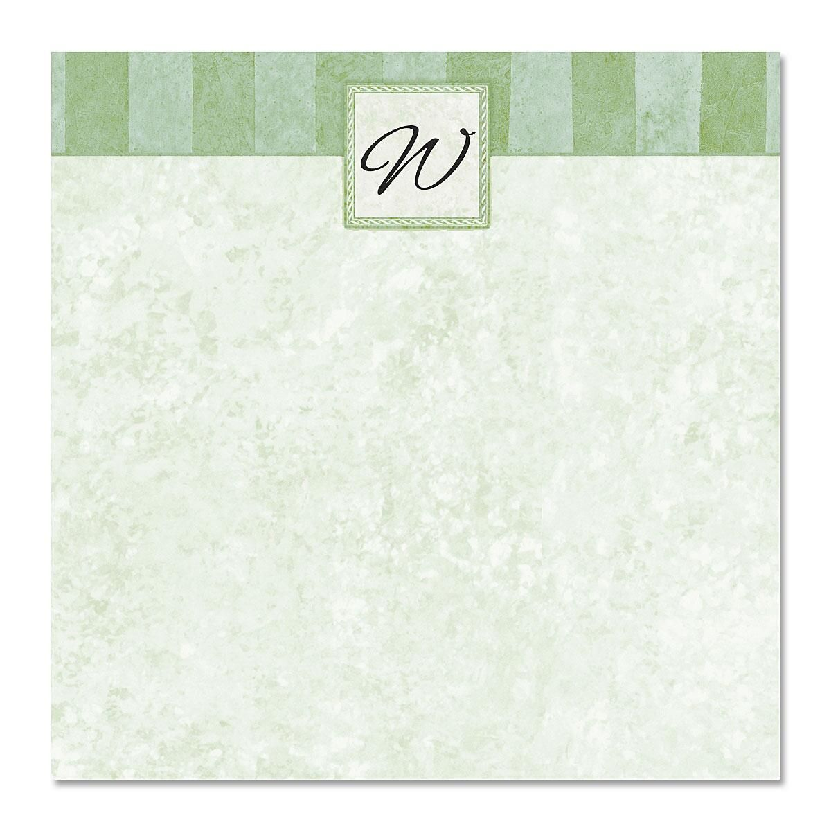 Tailored Elegance Note Cube  Refill