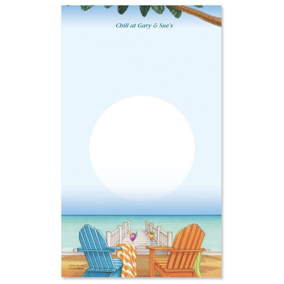 Bahama Breeze Notepad