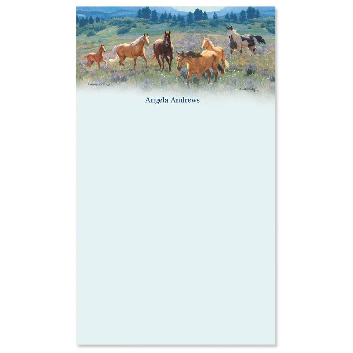 Gallop Horse Notepad