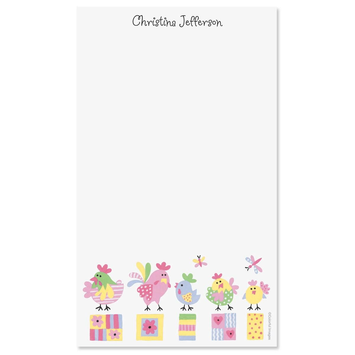 Little Chickee Custom Memo Pads