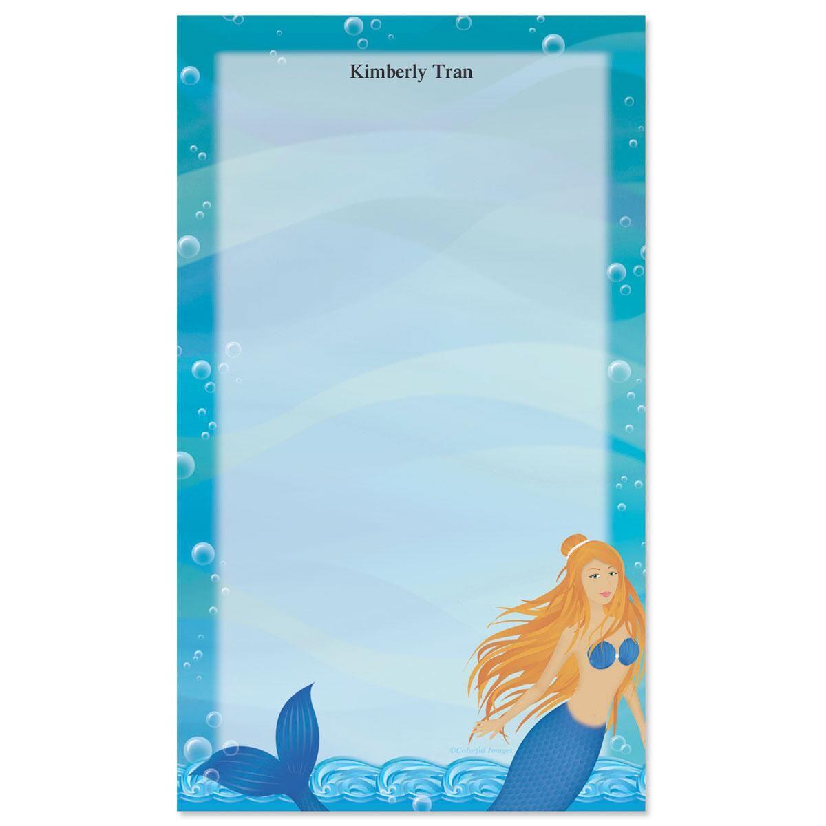 Mermaids Custom Memo Pads