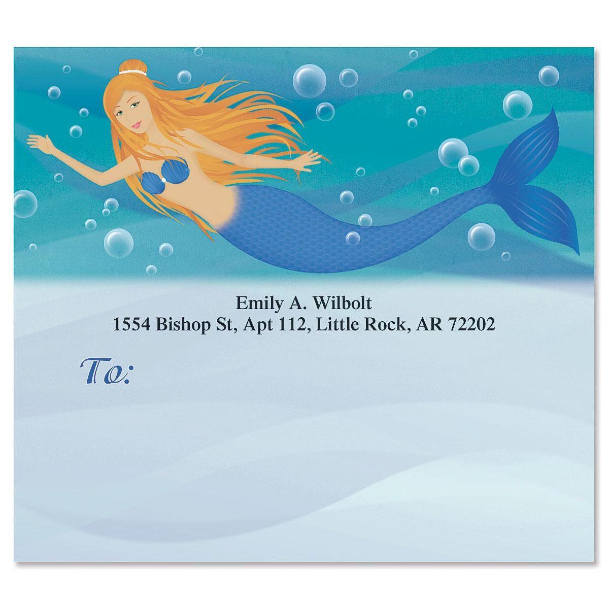 Mermaids Package Labels