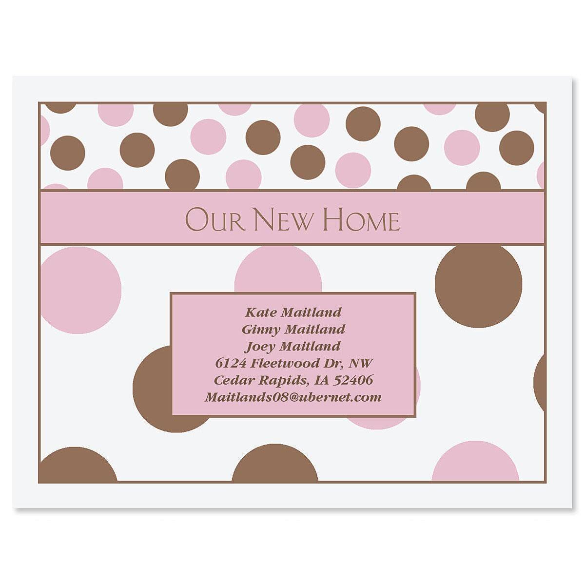 Pink & Brown  Postcards