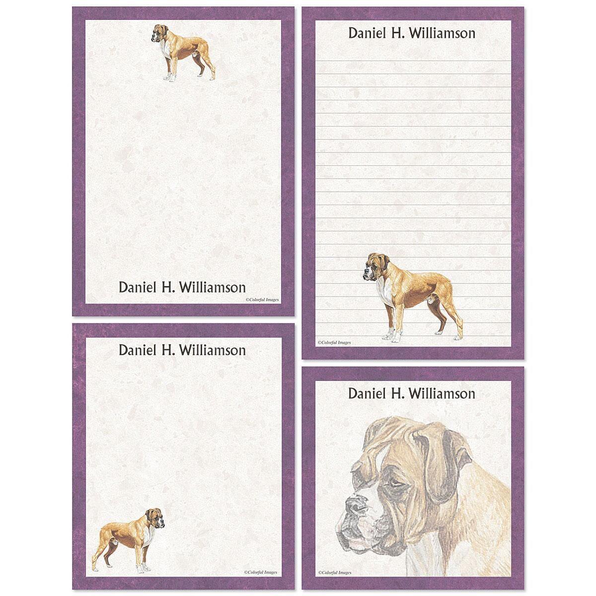 Don Eberhart Pet Portrait Memo Pad Sets