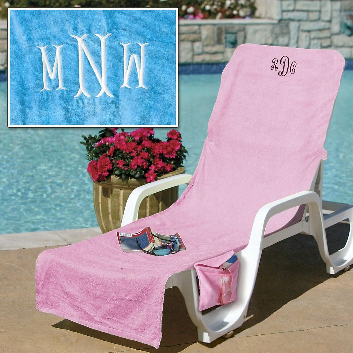 Personalized Terry Lounge Covers