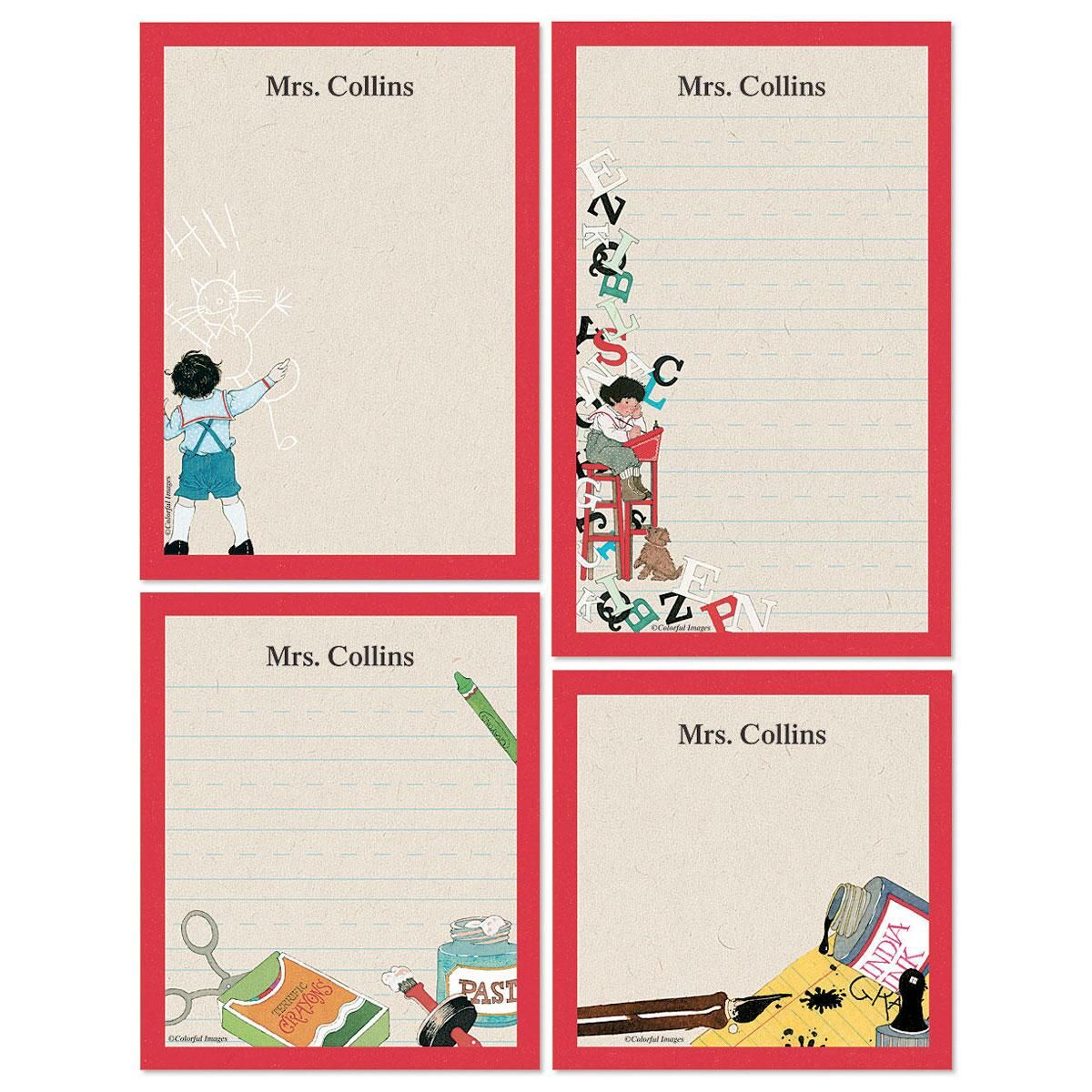 Back to School Memo Pad Set