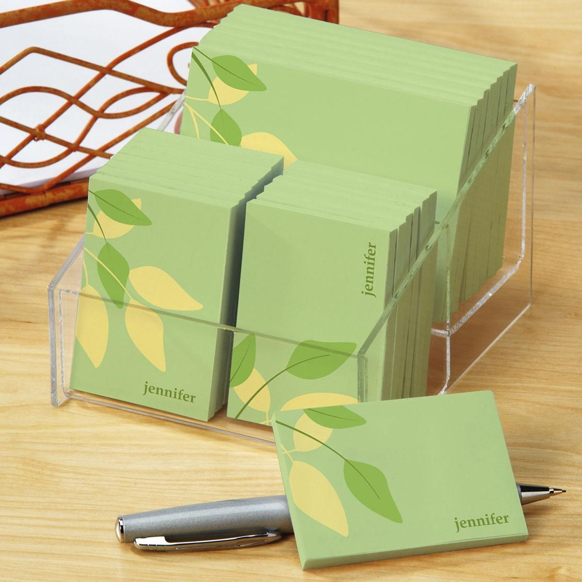 Sage Advice - green  Personalized  Post-it® Notes Set