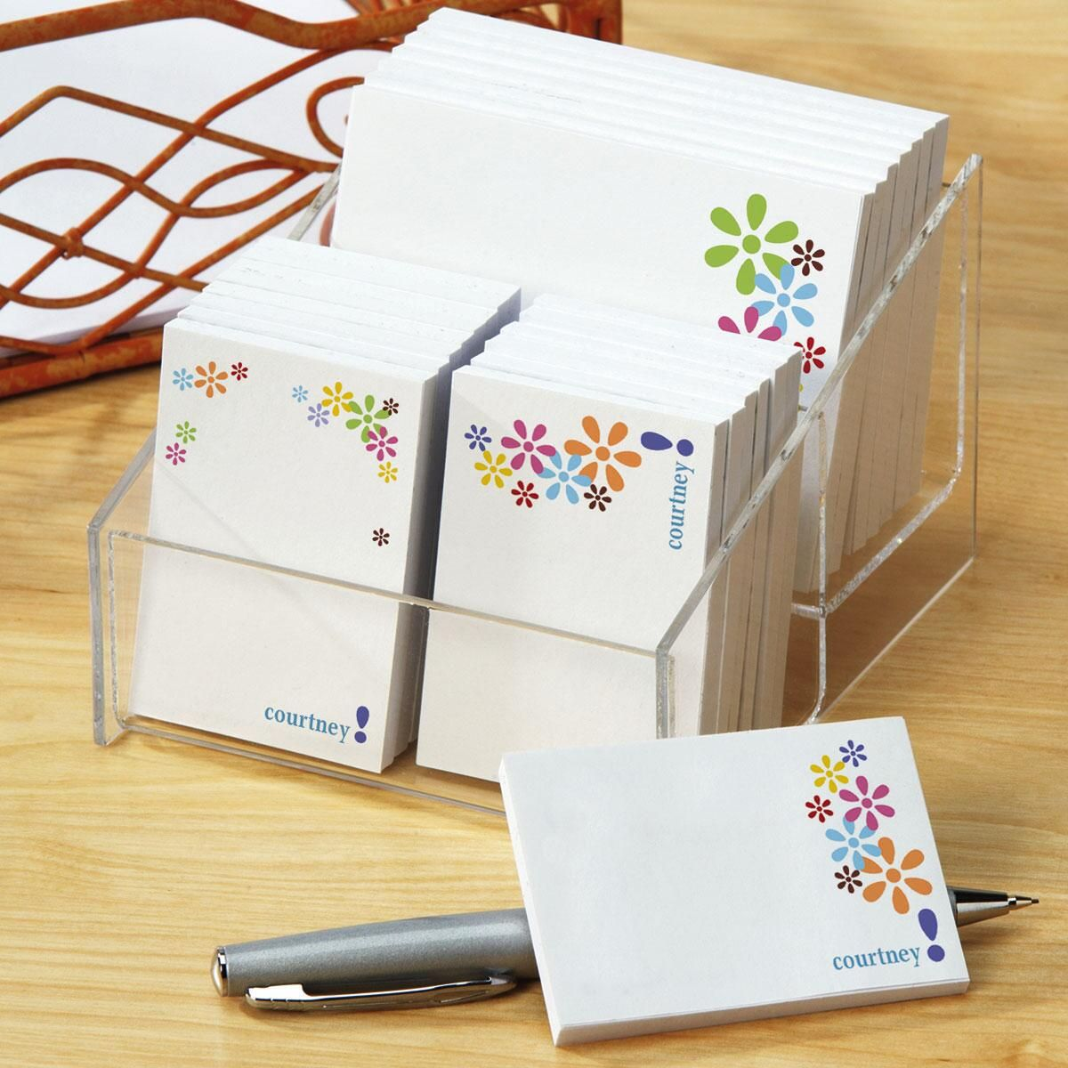 Hopscotch Personalized Post-it®  Notes Set
