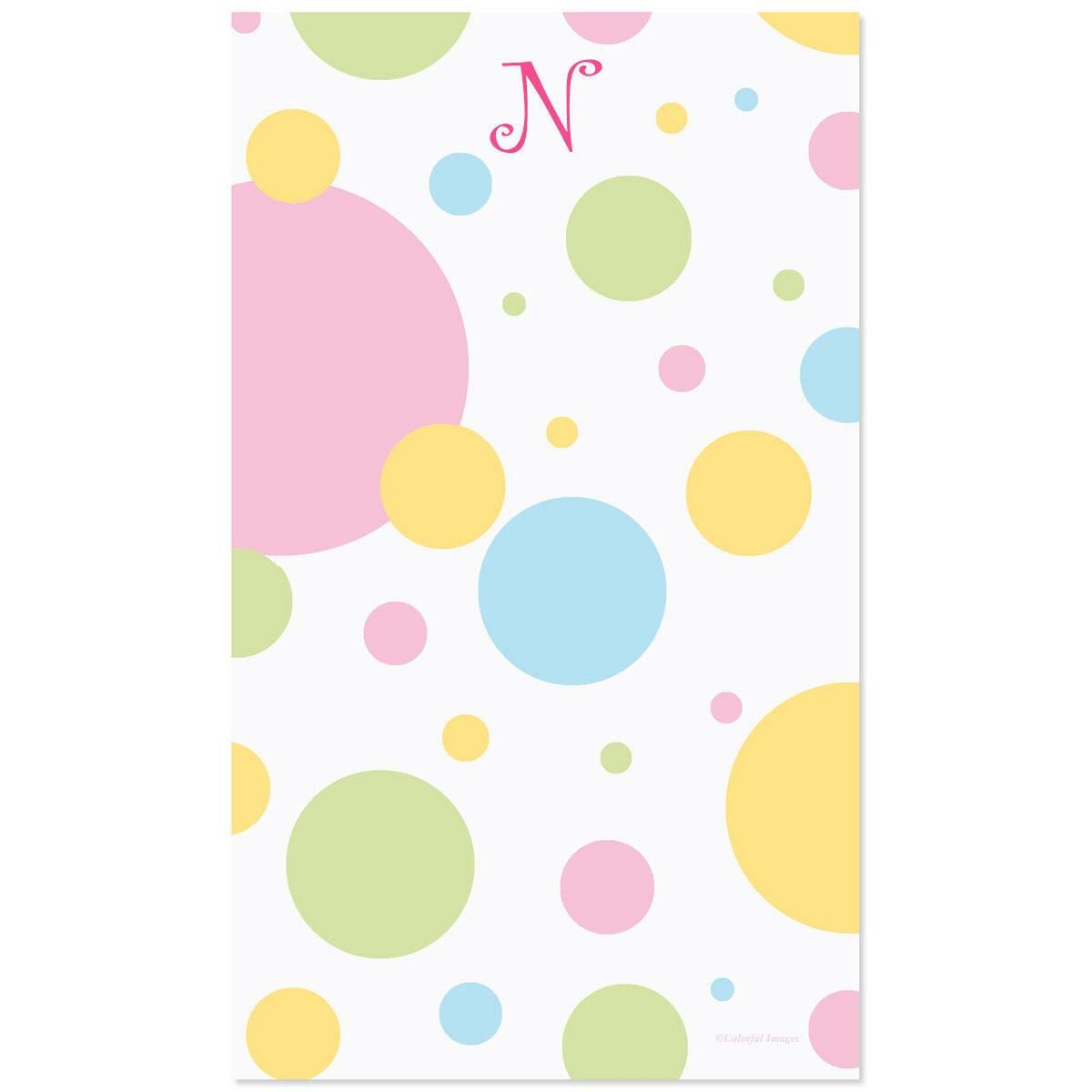 Dotty Initial Notepad